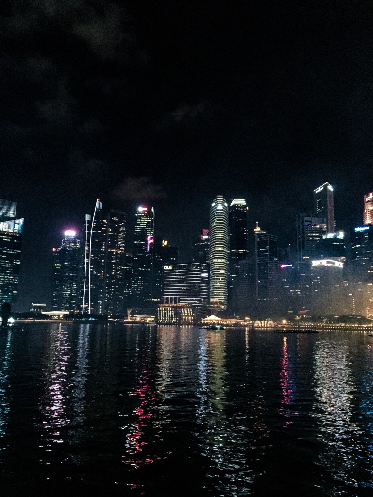 Two Days In Singapore - Skyline at Marina Bay
