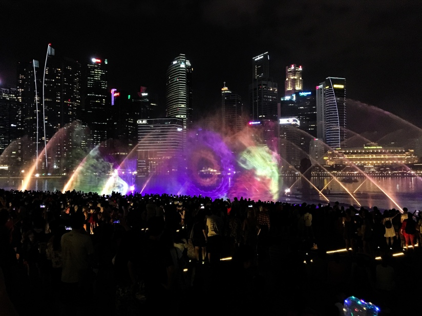 Two Days In Singapore - Spectra Show Lights