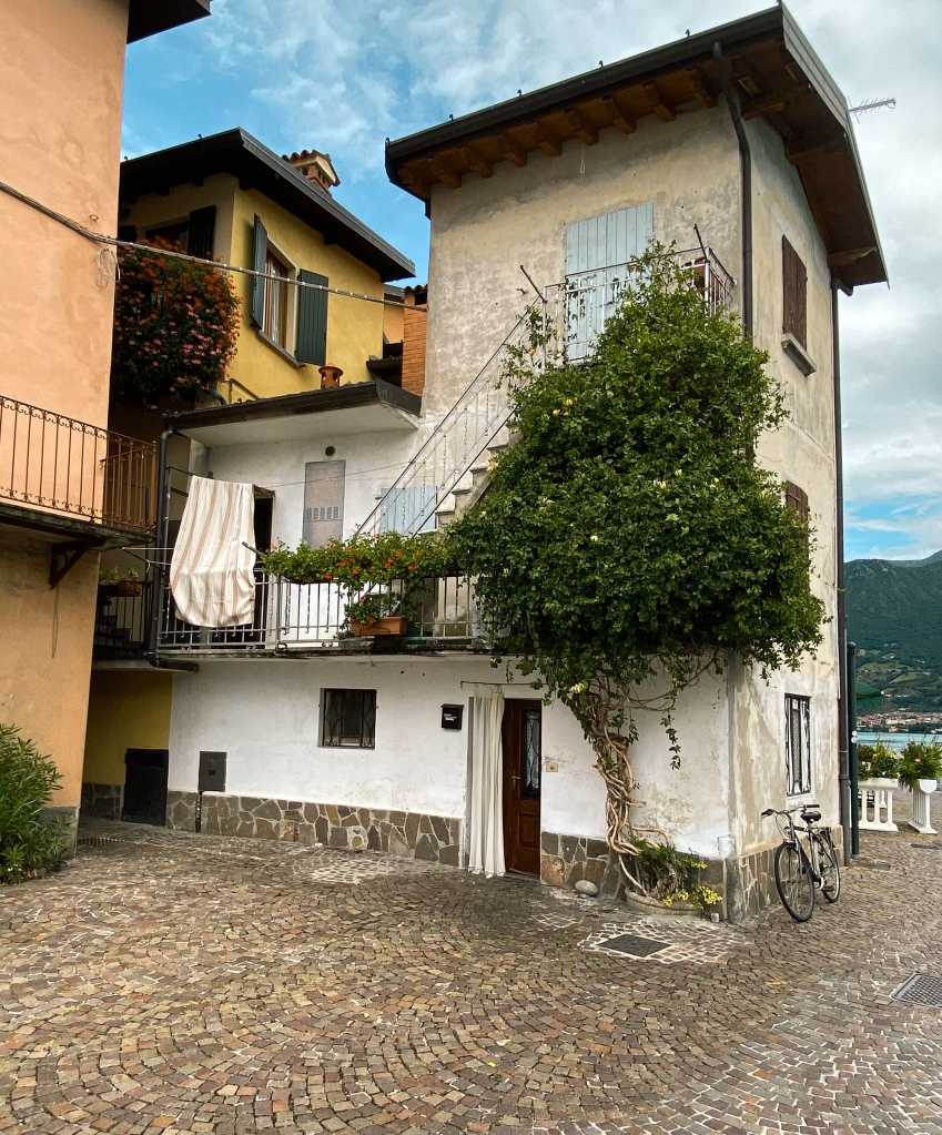 House on Monte Isola - Lake Iseo (Lago de Iseo)
